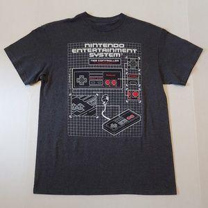 Retro NES gamer graphic tee